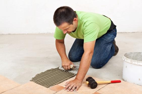 How To Install Tile Flooring - Curran Design Center